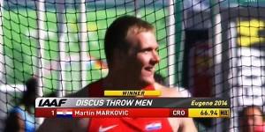 Svjetski prvak u bacanju diska
