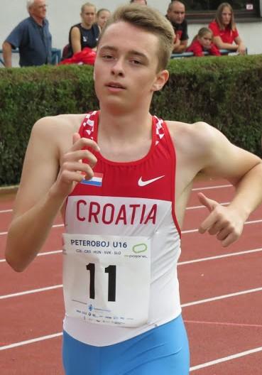Ivan Haubrih, kadetski rekord Hrvatske na 3000m hodanje