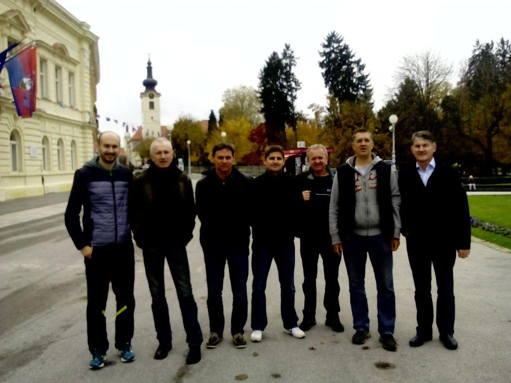 Susret generacija - Nemec,Budija, Kršek, Petrović, Palčić, Pešić, Zorko