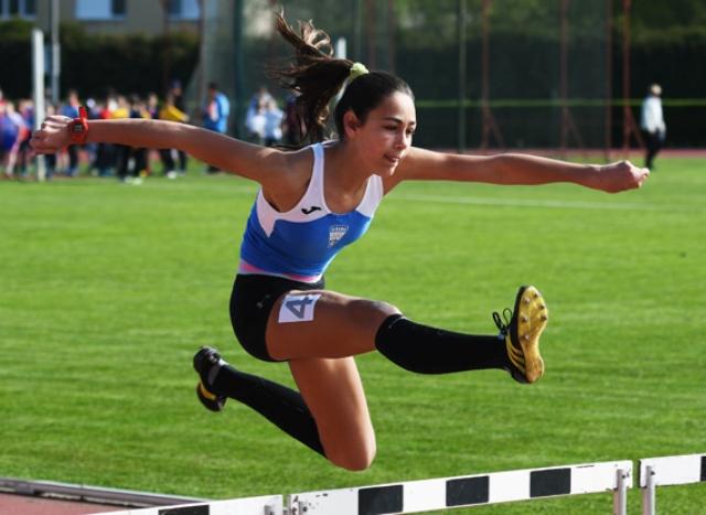 Hrvatski rekord Lucije Grd na 80 m prepone- 12,87!