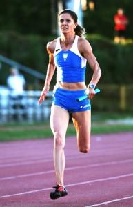 Anita Banović, prva na 400, 200 i 4x100m