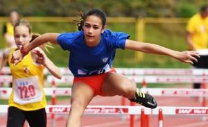 Lucija Grd,  3 državna rekorda !