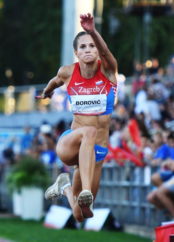 Paola Borović - hrvatski rekord za mlađe seniorke u troskoku-  13,43m